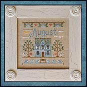 Country Cottage Needleworks - Cottage of the Month - August Cottage THUMBNAIL