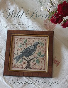 "Blackbird Designs - Loose Feathers Abecedarian Series - One ""Wild Berries"" MAIN"