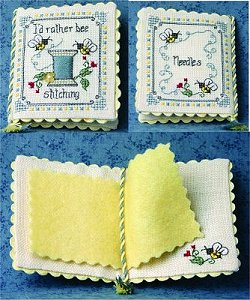The Bee Cottage - I'd Rather Bee Stitching MAIN