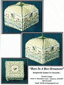 The Bee Cottage - Bees In A Box Ornament THUMBNAIL