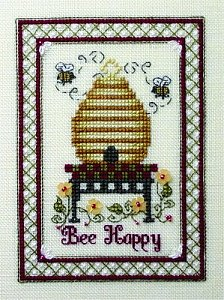 The Bee Cottage Cross Stitch Patterns The Sweetheart Tree