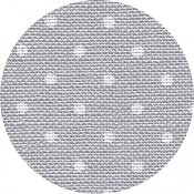 Belfast Linen 32ct Petit Point - Grey w/ White Dots