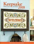 Cross Stitch & Needlework Keepsake Calendar 2018