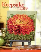 Cross Stitch & Needlework Keepsake Calendar 2019