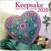 Cross Stitch & Needlework Keepsake Calendar 2020 THUMBNAIL