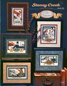 Cover photo of Stoney Creek Book 230 Decades to Remember cross stitch collages