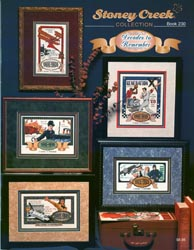 Cover photo of Stoney Creek Book 230 Decades to Remember cross stitch collages MAIN