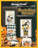 Cover photo of Stoney Creek Book 235 Bewitching Stitches featuring Halloween cross stitch designs