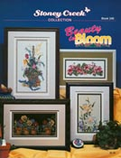 Cover photo of Stoney Creek Book 240 Beauty in Bloom featuring floral cross stitch designs_THUMBNAIL
