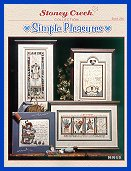 Cover photo of Stoney Creek Book 260 Simple Pleasures primitive cross stitch designs_THUMBNAIL