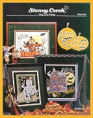 Cover photo of Stoney Creek Book 261 Stitch or Treat Halloween cross stitch designs