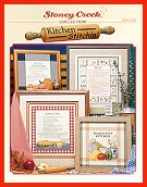Cover photo of Stoney Creek Book 266 Kitchen Stitchin' cross stitch designs for the kitchen_THUMBNAIL