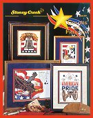 Cover photo of Stoney Creek Book 272 Colors of Freedom with patriotic cross stitch designs_THUMBNAIL