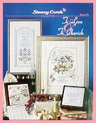 Cover photo of Stoney Creek Book 278 To Love & To Cherish cross stitch designs for weddings