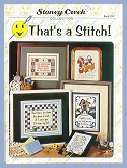 Cover photo of Stoney Creek Book 287 That's a Stitch! witty cross stitch sayings_THUMBNAIL