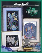 Cover photo of Stoney Creek Book 292 Mythical Fantasies cross stitch patterns_THUMBNAIL