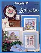 Cover photo of Stoney Creek Book 293 Splish Splash Splendor cross stitch patterns for the bathroom_THUMBNAIL