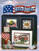 Cover photo of Stoney Creek Book 298 Spirit of America cross stitch designs_THUMBNAIL