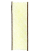 Bookmark - 14ct Ivory w/ Brown Trim THUMBNAIL