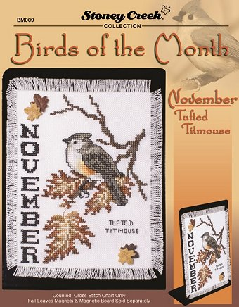 Bird of the Month - November (Tufted Titmouse) MAIN