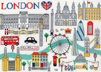 Bothy Threads Kit - Love London MAIN