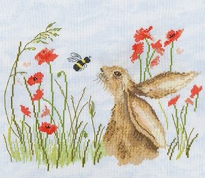 Bothy Threads Kit - Love Country - Bee Lovely MAIN