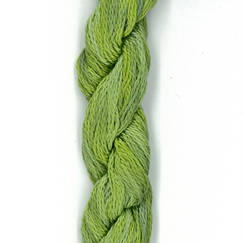 Creeks Colours Overdyed Floss 401 Lily Pad MAIN
