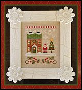 Country Cottage Needleworks - Santa's Village - Santa's House THUMBNAIL