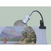 Mini Clip Magnifier Light by Craftlite