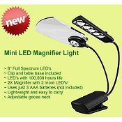 Craftlite - Mini LED Magnifier Light