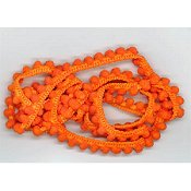 Dames of the Needle - Mini Pom Pom - Fra-Orange