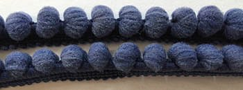 Dames of the Needle - Large Pom Pom - Miguel's Navy