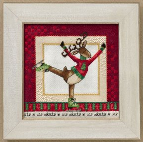 Debbie Mumm Skating Reindeer - Richmond THUMBNAIL