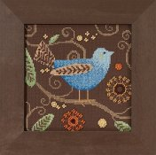 Debbie Mumm - Out On A Limb - Blue Bird Kit