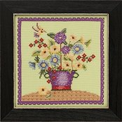 Debbie Mumm Blooms and Blossoms Kit by Mill Hill - Floral Bouquet