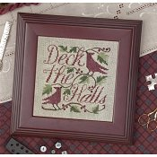 The Drawn Thread - Deck The Halls THUMBNAIL