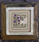 The Drawn Thread - Botanical Stitches - Sweet Violet_THUMBNAIL