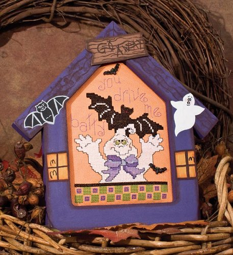 Poppy Kreations Frames - Halloween House