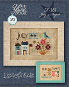 Lizzie Kate - Year Book Double Flip Series - July & August
