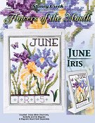 Flowers of the Month - June Iris THUMBNAIL