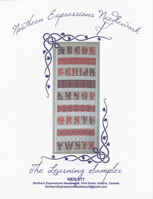 Northern Expressions Needlework - The Learning Sampler THUMBNAIL