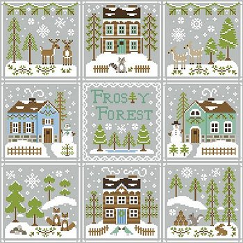 Country Cottage Needleworks - Frosty Forest #9 - Frosty Forest MAIN