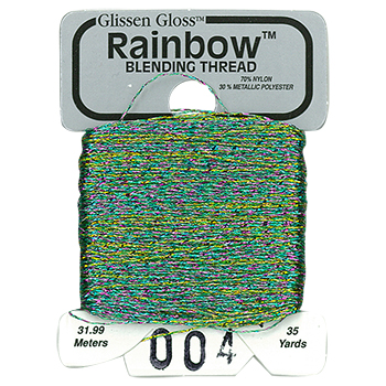 Glissen Gloss Rainbow Blending Thread 004 Pink Flame THUMBNAIL