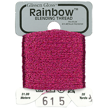 Glissen Gloss Rainbow Blending Thread 615 Azalea THUMBNAIL