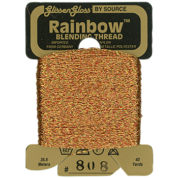 Glissen Gloss Rainbow Blending Thread 808 Copper THUMBNAIL