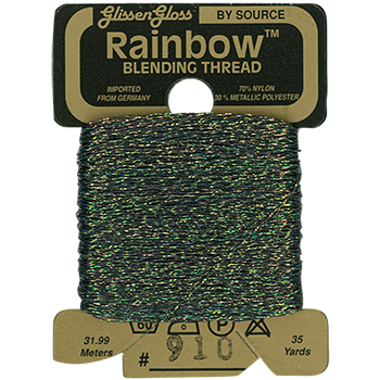 Glissen Gloss Rainbow Blending Thread 910 Light Flame THUMBNAIL