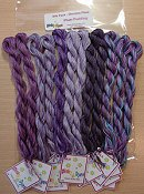 Glendon Place - Plum Pudding Dinky Dyes Silk Thread Pack
