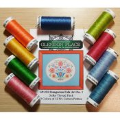 Glendon Place - Hungarian Folk Art No. 1 Thread Pack_THUMBNAIL