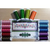 Glendon Place - Hungarian Folk Art No. 2 Thread Pack THUMBNAIL