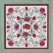 Glendon Place - Rosaceae (The Rose Mandala) THUMBNAIL